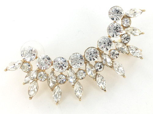 Rhinestone Ear Climbers Wholesale