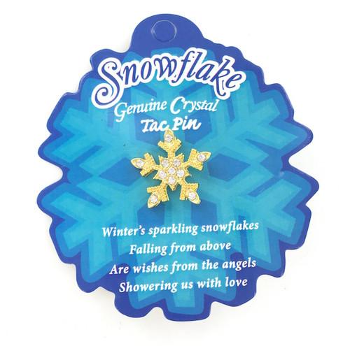 Wholesale Snowflake Tac Pin
