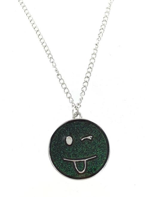 Wholesale Mood Necklaces - Emoji Face