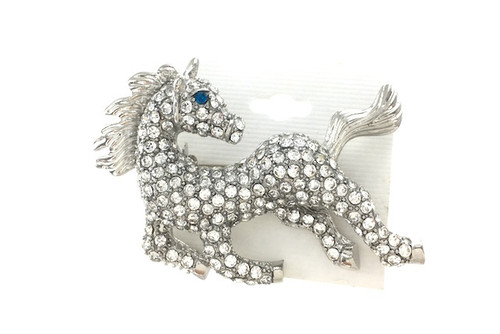 Wholesale Crystal Horse Pin