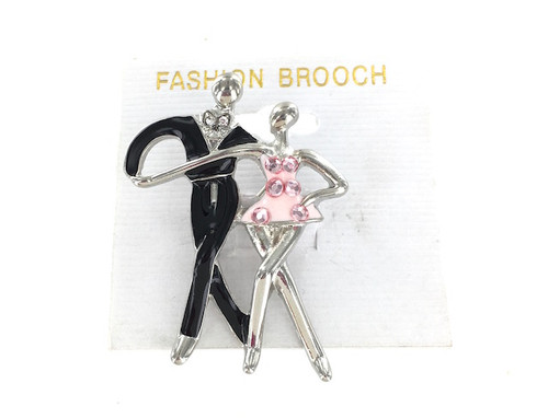 Wholesale Dancing Couple Pin