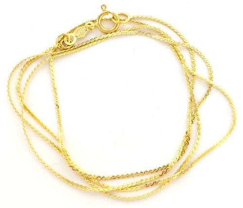 Wholesale Elegant Gold Filled Chains
