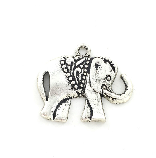 Wholesale Zinc Alloy Charm - Elephant