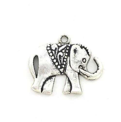 Wholesale Zinc Alloy Charm - Elephant
