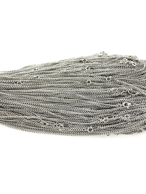 Curb Chain by the Gross - 2 MM Wide - 18 Inches Long