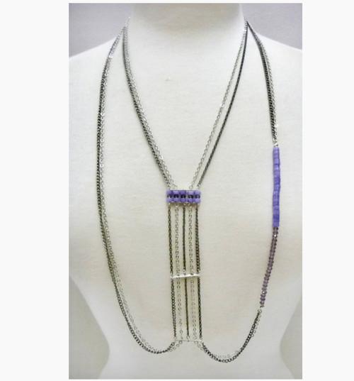 Wholesale Semi Precious Stone Chest Necklaces