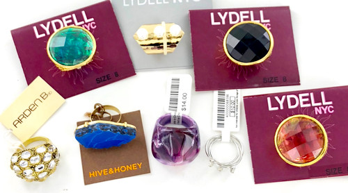 Wholesale Name Brand Rings by the Dozen