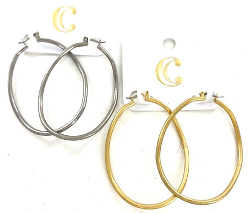 Wholesale Name Brand Oval Hoops