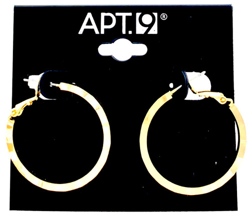 Wholesale Name Brand 3 CM Hoop Earrings