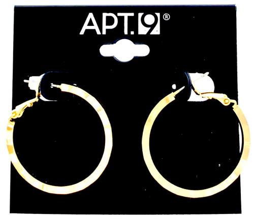 Wholesale Name Brand 3 CM Hoop Earrings