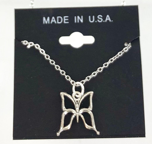 Wholesale Cut Out Butterfly Necklaces