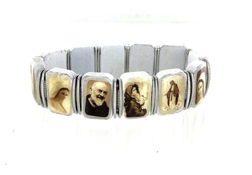 Wholesale Saints Stretch Bracelet