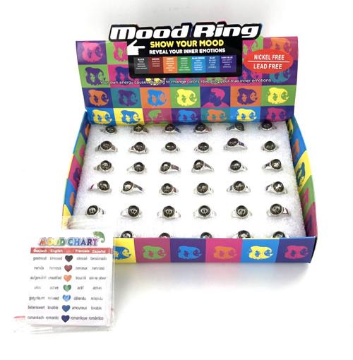 Wholesale Kids Mood Rings - 48 Piece Unit
