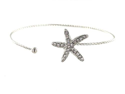 Wholesale Wire Bracelets - Starfish
