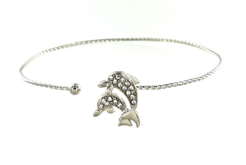 Wholesale Wire Bracelets - Dolphin