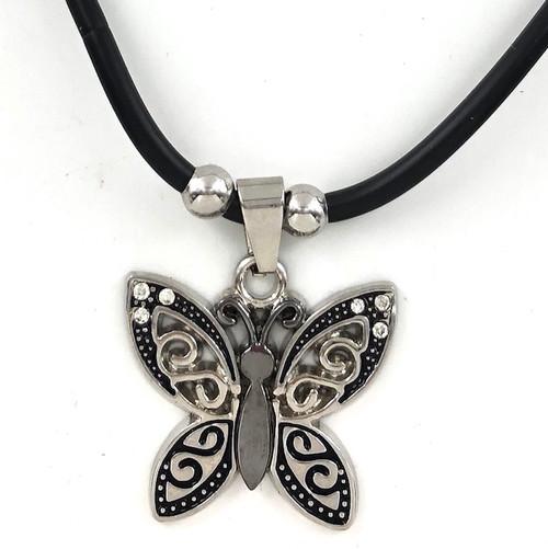 Wholesale Steel Necklace - Butterfly