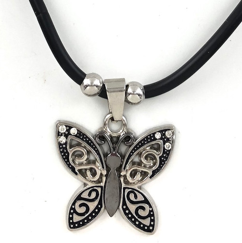Wholesale Steel Necklace - Butterfly