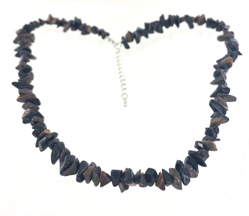 Wholesale Semi-Precious Gemstone Necklace - Tigers Eye