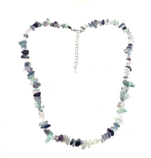 Wholesale Semi-Precious Gemstone Necklace - Fluorite