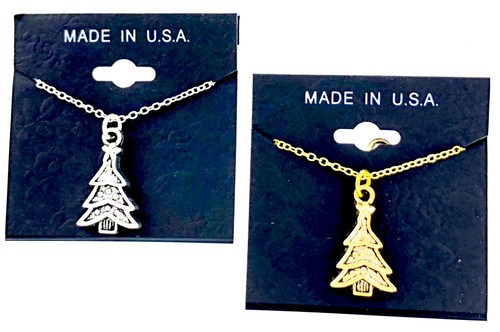 Wholesale Christmas Tree Necklace