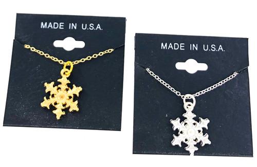 Wholesale Snowflake Necklace