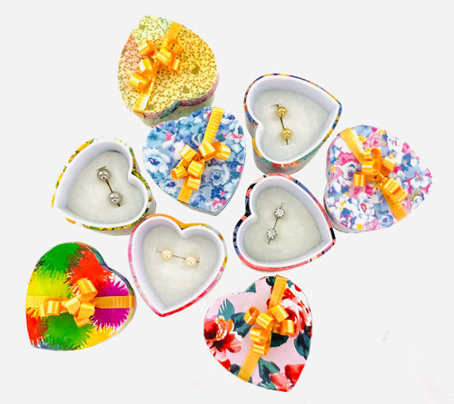 Wholesale Gift Boxed Stud Earring Assortment