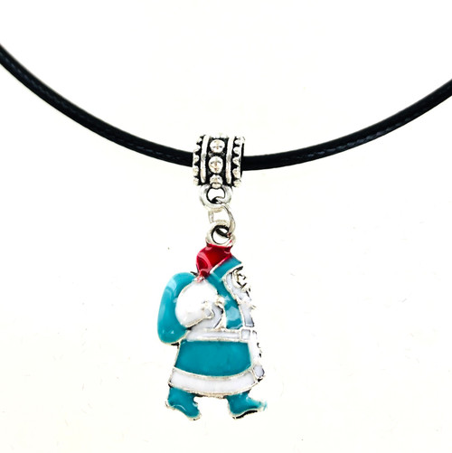 Wholesale Enamel Santa Necklace