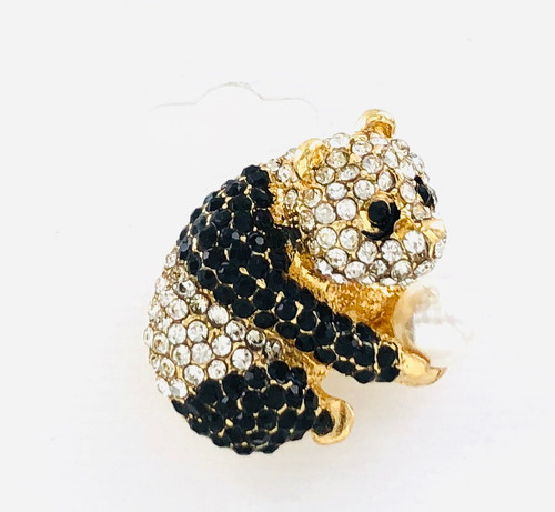 Wholesale Crystal Panda Pin