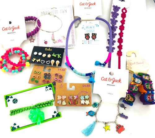 Kids Name Brand Jewelry by the Dozen