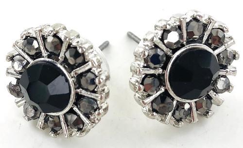 Wholesale Marcasite Flower Earrings