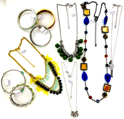 100 Piece Closeout Lia Sophia Fashion Jewelry Lot