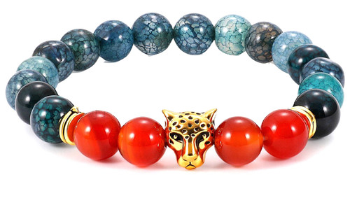 Dragons Vein Agate Bracelet at Wholesale