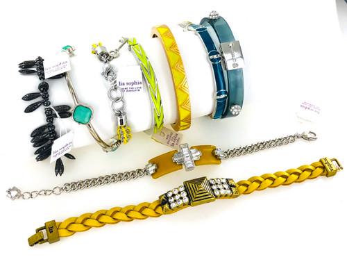 Trendy Lia Sophia Bracelets by the Dozen