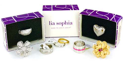 Wholesale Lia Sophia Rings by the Dozen