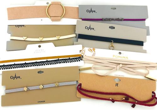 Wholesale Trendy Choker Necklaces by the Dozen