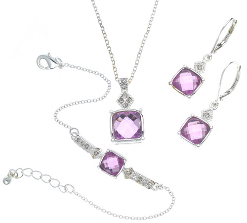 Wholesale 3 Piece Birthstone Gift Boxed Set - June