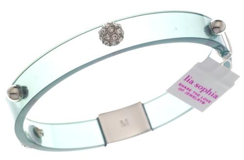 Wholesale Glazed Bangle Bracelet - Licorice