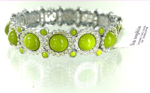Wholesale Sparkler Stretch Bangle Bracelet - Spring