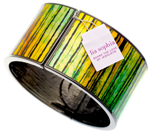 Wholesale Forest Stretch Cuff Bangle Bracelet