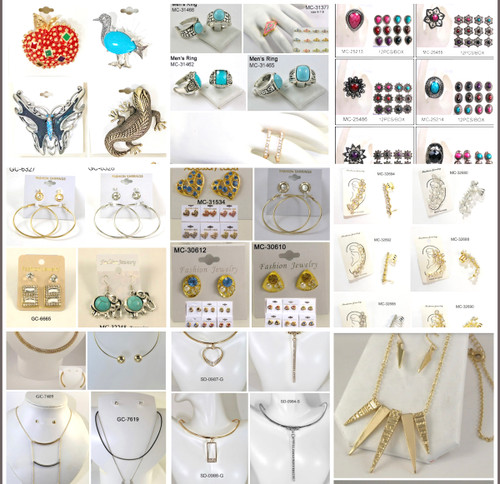 100 Dozen Jewelry Closeout - 1200 PIECES!