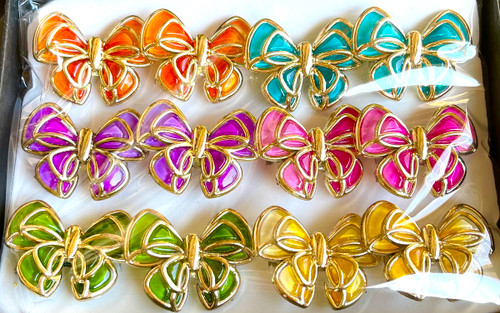 Wholesale Bright Butterfly Rings by the Dozen