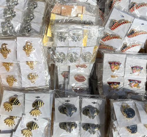 10 Dozen Assorted Pins - 120 Pieces