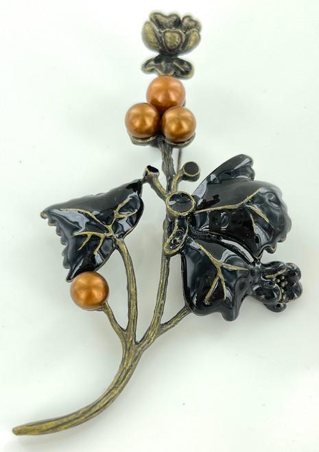 Wholesale Grape Leaf Pins by the Dozen