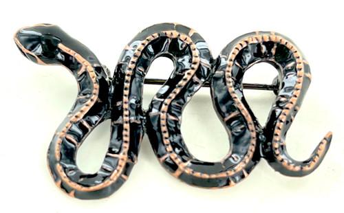 Wholesale Enamel Snake Pin by the Dozen