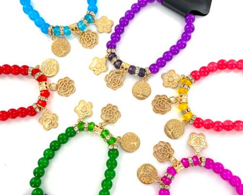 Wholesale Flower of Life Bracelets by the Dozen