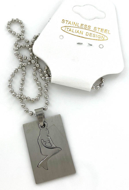 Wholesale Stainless Steel Laser Cut Necklaces by the Dozen