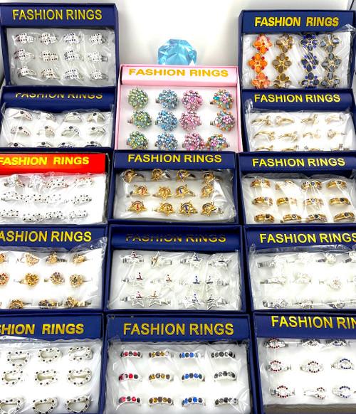 20 Dozen Fashion Ring Sale - 240 Rings!