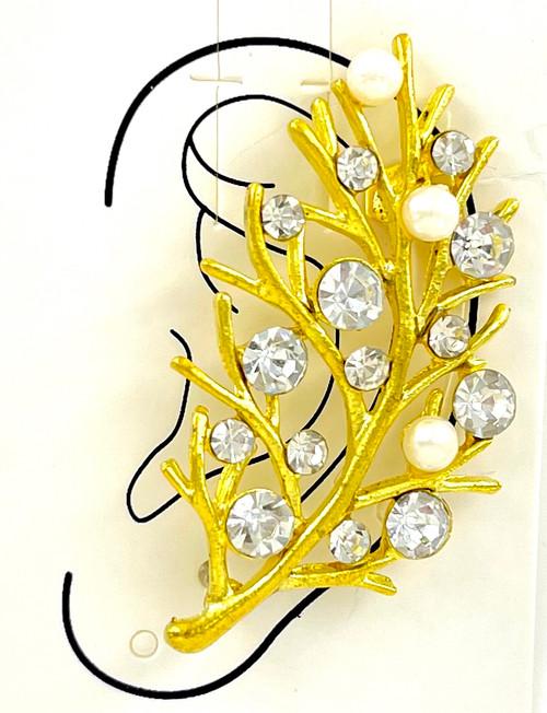 Wholesale Ear Cuffs by the Dozen - Golden Branches