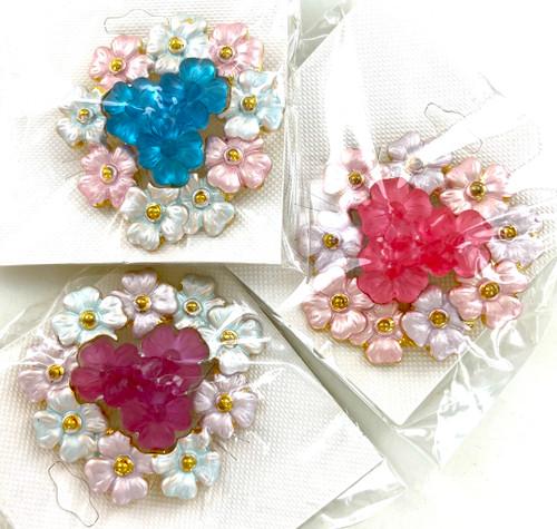 Wholesale Floral Bouquet Pins by the Dozen