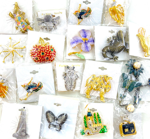 100 Assorted Fashion Pins